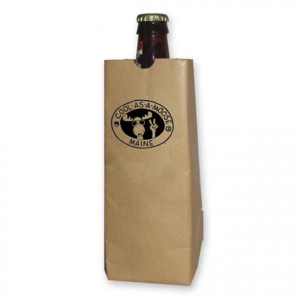16oz sip sack paper bag koozie