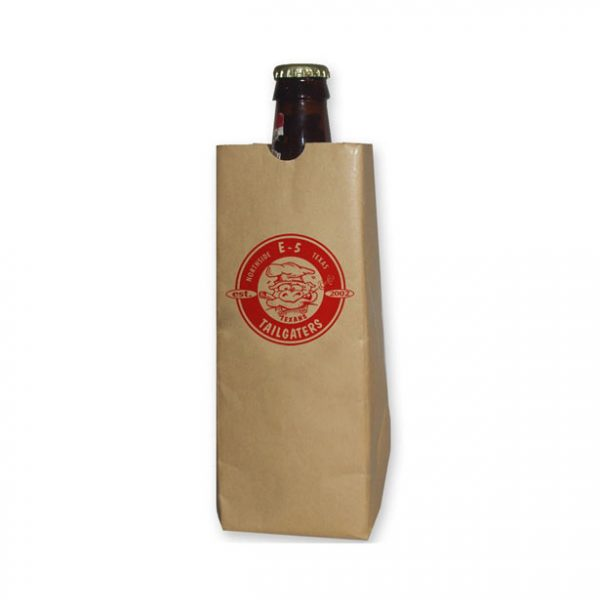 24oz sip sack paper bag koozie
